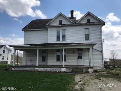 Guernsey County Single Family Home For Sale: 213 Cambridge St South