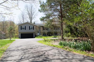 Geauga County Single Family Home For Sale: 9585 Taylor May Rd