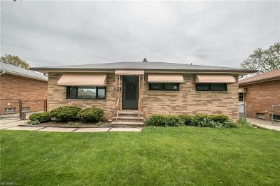 Cleveland Single Family Home For Sale: 4371 West 147 St