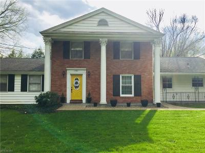 Youngstown Single Family Home For Sale: 1181 Academy Dr
