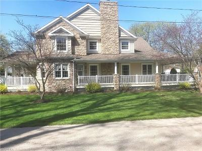 Ashtabula County Single Family Home For Sale: 1037 Golfview Dr