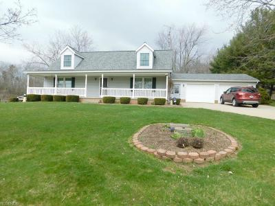 Single Family Home For Sale: 18087 Dover Rd