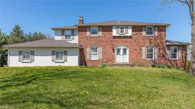 Chesterland Single Family Home For Sale: 8780 Mulberry Rd