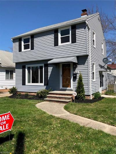 Euclid Single Family Home For Sale: 265 East 246th St