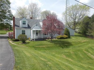 Wadsworth Single Family Home For Sale: 3438 South Medina Line Rd