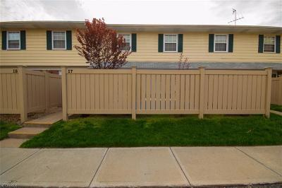 Lake County Condo/Townhouse For Sale: 7970 Mentor Ave #I07