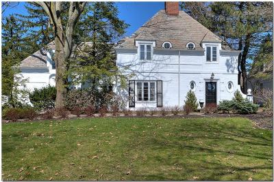 Shaker Heights Single Family Home For Sale: 23199 Hardwick Rd