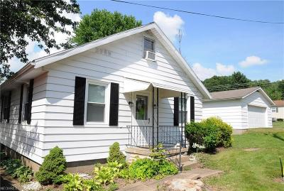 Guernsey County Single Family Home For Sale: 58387 Lashley Rd