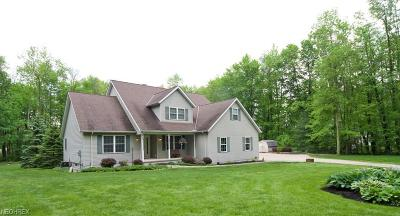 Chagrin Falls Single Family Home For Sale: 11190 Franks Rd