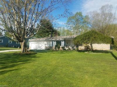 Ashtabula Single Family Home For Sale: 4223 Denise Dr