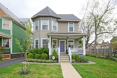 Cleveland Single Family Home For Sale: 6514 West Clinton Ave