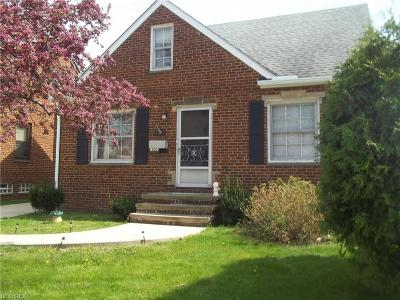 Parma Single Family Home For Sale: 8103 Snow Rd