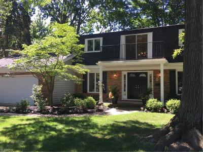 Bay Village Single Family Home For Sale: 30905 Huntington Woods