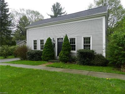 Garrettsville Single Family Home For Sale: 8220 Center St