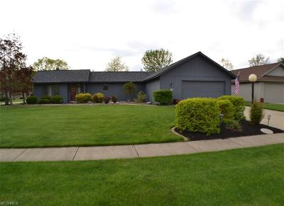 North Ridgeville Single Family Home For Sale: 8774 Mosswood Cir