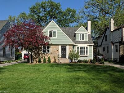 Rocky River Single Family Home For Sale: 2841 Wagar Rd