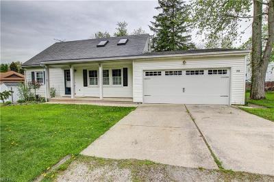 Chippewa Lake Single Family Home For Sale: 88 Beau Bay Blvd