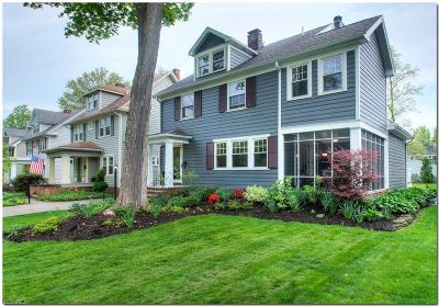 Cleveland Heights Single Family Home For Sale: 2941 Coleridge Rd