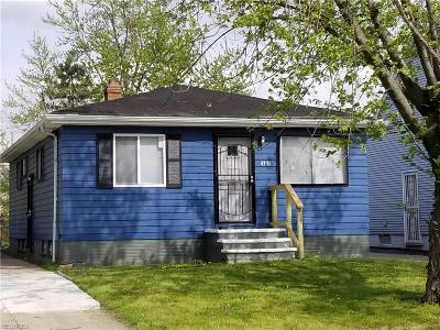 Cleveland Single Family Home For Sale: 4381 East 156th