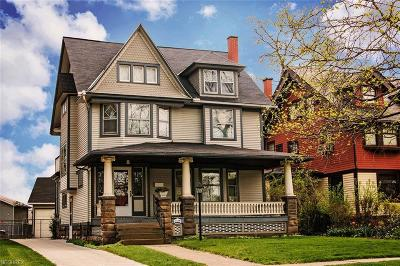 Cleveland Single Family Home For Sale: 6311 Franklin Blvd