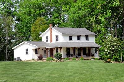 Guernsey County Single Family Home For Sale: 3601 Barnett Rd