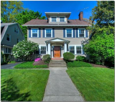 Cleveland Heights Single Family Home For Sale: 1932 Woodward Ave