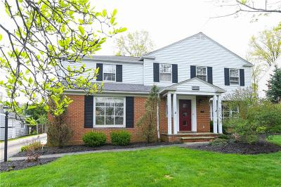 Shaker Heights Single Family Home For Sale: 2929 Glenmore Rd