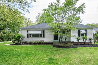 Richmond Heights Single Family Home For Sale: 23020 Harms Rd