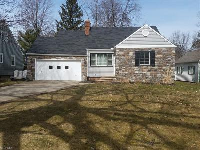 Single Family Home For Sale: 23918 Wolf Rd
