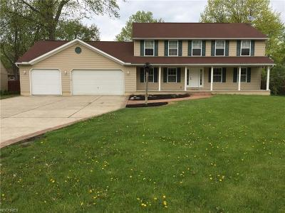 Mentor Single Family Home For Sale: 7609 Johnnycake Ridge Rd