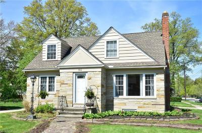 Bay Village Single Family Home For Sale: 510 Cahoon Rd