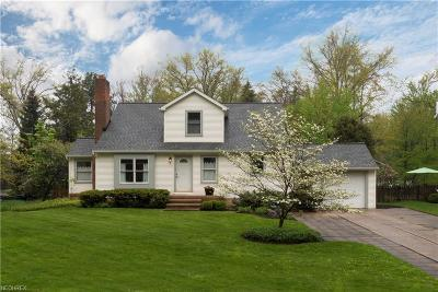 Bay Village, Rocky River Single Family Home For Sale: 24426 Bruce Rd