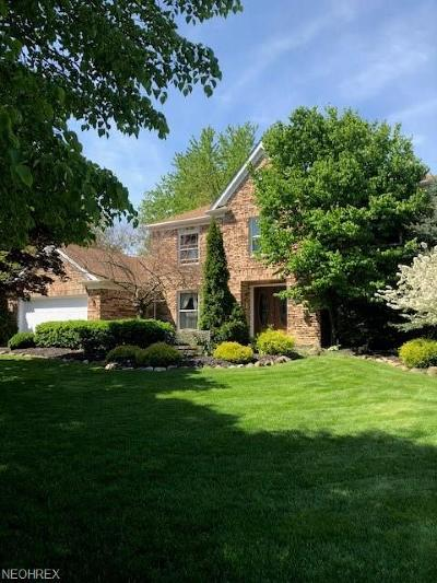 Strongsville Single Family Home For Sale: 18212 Heritage Trl