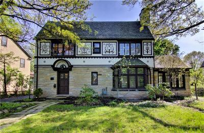 Shaker Heights Single Family Home For Sale: 18524 Parkland Dr