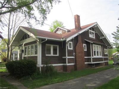 North Olmsted Single Family Home For Sale: 4211 Columbia Rd