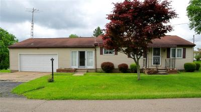 Gratiot OH Single Family Home For Sale: $129,500