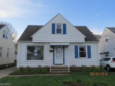 Wickliffe Single Family Home For Sale: 29930 Elgin Rd