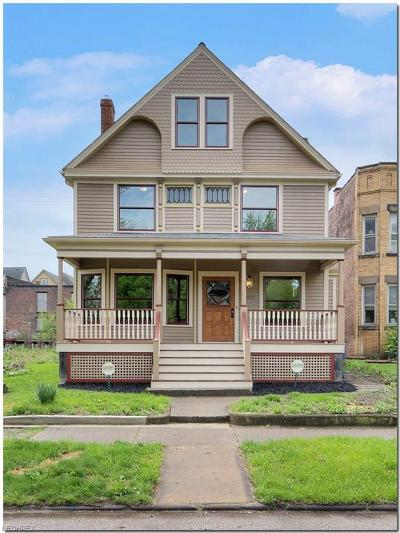 Cuyahoga County Single Family Home For Sale: 4307 Clinton Ave