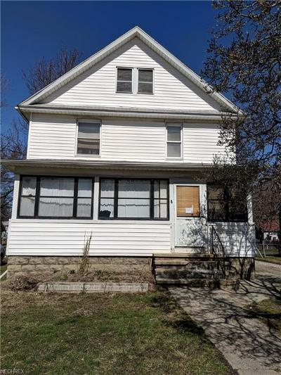 Painesville OH Single Family Home For Sale: $40,000