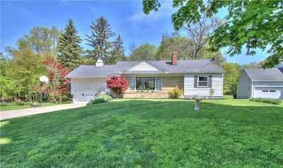 Richmond Heights Single Family Home For Sale: 26379 White Rd
