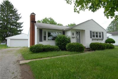 South Zanesville OH Single Family Home For Sale: $137,000