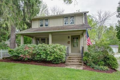 Chagrin Falls Single Family Home For Sale: 137 Bradley St