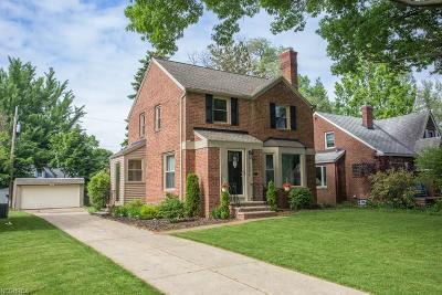 Rocky River Single Family Home For Sale: 19984 Westover Ave
