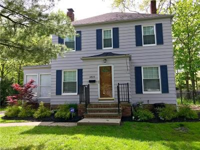 North Olmsted Single Family Home For Sale: 4822 Clague Rd