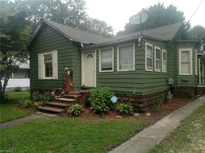 Painesville OH Single Family Home For Sale: $44,900