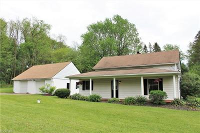 Chagrin Falls Single Family Home For Sale: 16881 Auburn Rd