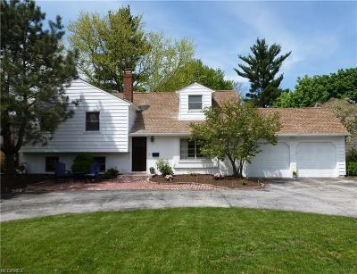 Bay Village, Rocky River Single Family Home For Sale: 29320 Wolf Rd