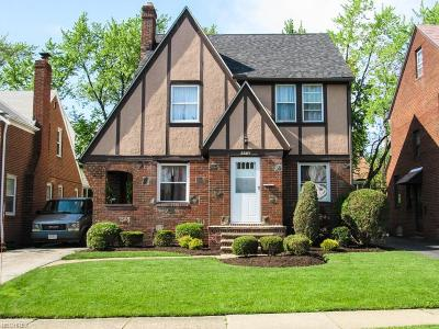 Cleveland Heights Single Family Home For Sale: 3567 Grosvenor Rd