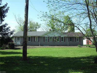 Ashtabula County Single Family Home For Sale: 1670 Mill Creek Rd