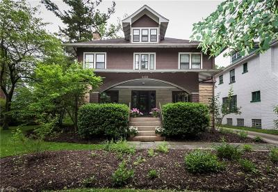 Cleveland Heights Single Family Home For Sale: 2452 Kenilworth Rd